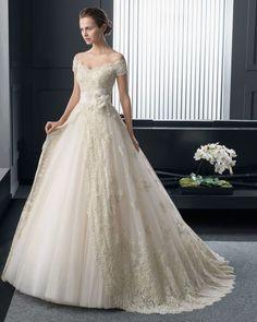 23 vestidos de noiva modelo princesa 2015 cheios de sofisticação e elegância Image: 4
