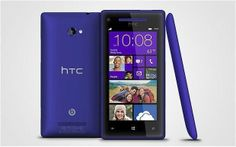 HTC WINDOWS 8X 8GB Blue (AT&T) Unlocked Smartphone Fair Condition