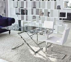 Adjustable Coffee and Dining Table