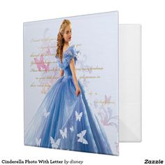 Cinderella Photo With Letter Binders