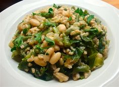 Yummy Healthy Kitchen: Pearled Spelt Risotto Primavera from www.yummyhealthykitchen.com