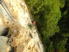 Multi-pitch Climbing in Cantabaco: An Adventure 250 Feet Above the Ground Mountaineering, Rock Climbing, Philippines, This Is Us, Wanderlust, Adventure, Climbing, Mountain Climbing, Adventure Movies