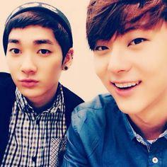 Aron & Minhyun ♥ <3<3