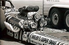 Just A Car Guy: Some of the coolest dragsters, diggers, slingshots, and launches… Ford Racing Engines, Don Prudhomme, Snake And Mongoose, Ford Motorsport, Super Snake, Top Fuel Dragster, Old Race Cars, Old Fords, Vintage Racing
