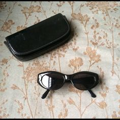 ️HP Original vintage CHANEL black sunglasses Vintage original Chanel black sunglasses, minimal wear, there's a small scratch shown in the last pic. Classy and elegant, come with a black case. Thank you for visiting my closet, please let me know if you have any questions, I offer great discounts on bundles :) CHANEL Accessories Sunglasses