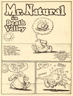mr. natural - robert crumb