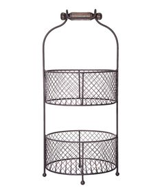 Another great find on #zulily! Two-Tier Fruit Basket by Home Essentials and Beyond #zulilyfinds