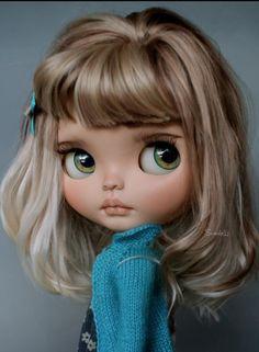 Ní me retes ! Pretty Dolls, Beautiful Dolls, Ooak Dolls, Blythe Dolls, Cute Baby Dolls, Kawaii Doll, Gothic Dolls, Doll Repaint, Custom Dolls