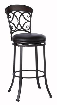 Trevelian Swivel Counter Stool Dining Chairs Benches Stools from Hillsdale at