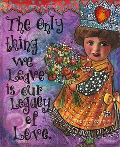 Pringlehill's legacy of love & happy art...