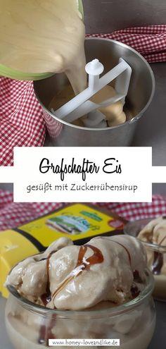 Grafschafter Eis mit Zuckerrübensirup gesüsst! #eis Nutella, Camembert Cheese, Dairy, Ice Cream, Easy Peasy, Sorbet, Scream, Party Ideas, Ice Cream Recipes