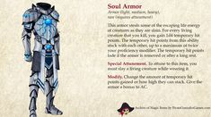 Dungeons And Dragons Classes, Dungeons And Dragons Homebrew, Fantasy Armor, Fantasy Weapons, Fantasy Character Design, Character Concept, Magic Armor, Dnd Stories, Dnd Dragons
