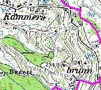 """Im Flurnamen """"Kammersbrunn"""" in Obersasbach, Gemeinde Sasbach (Ortenaukreis, Baden-Württemberg, Germany) steckt nicht """"Kammer"""" = Raum oder Behörde, sondern """"Kammert"""" oder """" Kammerz"""" = Spalierbaum oder Weinstock an einer Mauer."""