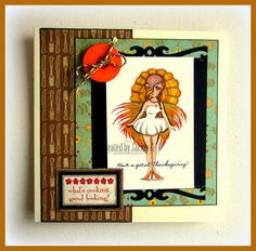 TheEastWind Challenge Blog: Show Room : October Freebie  Aurora 'Turkey'  at The East Wind...