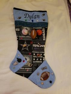 Dylan's theme is the Dallas cowboys.