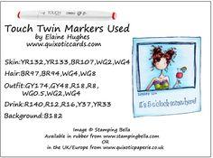 Stamping Bella - Polaroid Frame & Uptown Madison - www.quixoticcards.com