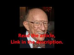 """WTF! Inventor of ADHD's Deathbed Confession: """"ADHD is a Fictitious Disease"""""""