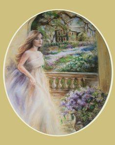 Fine art Print landscape Flower Romantic by LaurieShanholtzer, $16.00