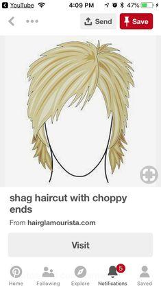 Shaggy Short Hair, Haircuts For Medium Hair, Short Shag Hairstyles, Shaggy Haircuts, Short Thin Hair, Short Hair With Layers, Short Hair Cuts For Women, Short Hair Styles For Round Faces, Medium Hair Styles