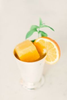 Tangerine Mint Julep - The perfect summer cocktail.