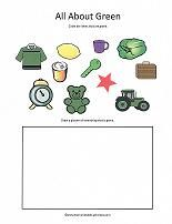 Lots of free printable activities for learning colors.
