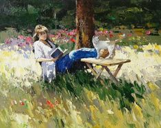 1000 Images About Paintings Of People Reading On