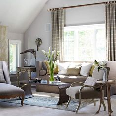 Window Treatments Styles & Options for Your Home Better Homes and Gardens® Real Estate Like page if you found this helpful. Decor, Furniture, Home Living Room, Interior, Home, Interior Design, Window Treatment Styles, Home And Living, Window Treatments