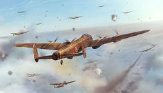 Final Route on Behance Final Route of 156th Pathfinder squadron Lancaster (GT-O) during bomb run on 31st March 1945.