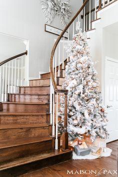 Simple Holiday Decorating: Christmas Home Tour - Maison de Pax
