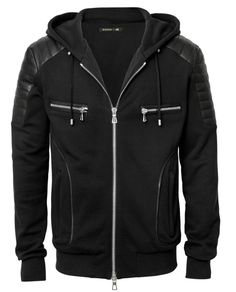 H&M x Balmain: See the Entire Piece Collection With Prices - Racked Korean Fashion Men, Mens Fashion, Fashion Goth, Fashion Vintage, Fashion Menswear, African Fashion, Style Vintage Hommes, H&m Collaboration, Mens Outdoor Jackets