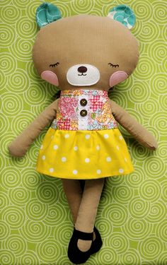 Have to make this!!! she's adorable