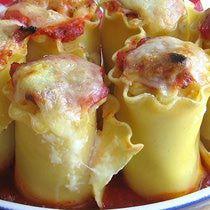 Croatian Lasagne Rollups Recipe - Lazanje Rollups