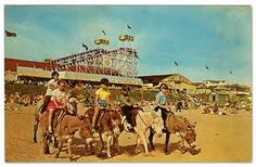 Where we spent most of our childhood holidays - Coney Beach at Porthcawl
