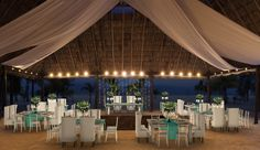 Reception - Beach Wedding
