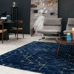 2019 Interior Design Trends: Start the Year with the Most Modern Decor Teal Accessories, Interior Design Trends, Home Room Design, Rugs, Living Room Inspiration, Rug Design, Teal Rug, Living Room Designs, Contemporary Rugs