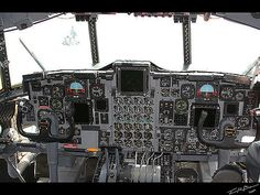 AC-130U Spectre. cockpit