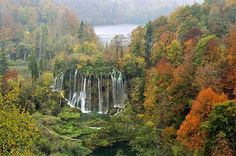Parque Nacional de Plitvice. Croacia.