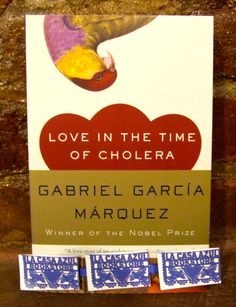"""Love in the Time of Cholera"" by Gabriel Garcia Marquez. La Casa Azul Bookstore loves #latinolit"