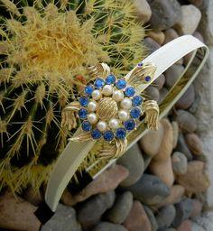 antique brooch headbands