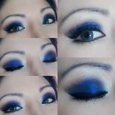 Bello en azul