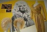 Dolly's Wigs and Gold Evening Gown from her Concert in London 1983