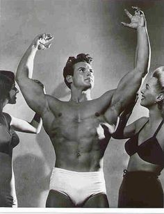 Steve Reeves and Frank Zane are my idols.  They made the body great, now days it's a freak show, everything is overdone.