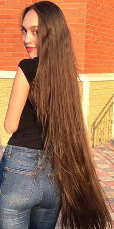 Long Layered Hair, Long Hair Cuts, Long Hair Styles, Down Hairstyles, Braided Hairstyles, Pinterest Hair, Long Braids, Very Long Hair, Silky Hair