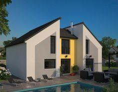 Plan maison neuve à construire - Maisons France Confort La Villa ...