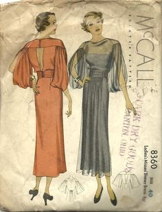 McCall #8360 c.1935