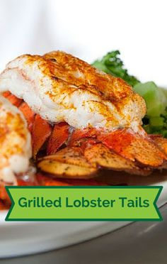 Elizabeth Karmel showed viewers of 'The Chew' how to mix up their grill routine and enjoy her Lobster Tails with Pastis Creme instead of the usual beef or hot dogs.