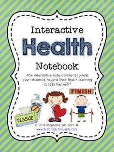 Interactive Health Notebook | 3rd Grade Thoughts | {2-4}