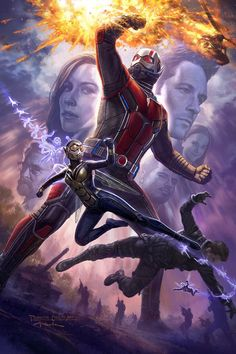 Ant-Man & The Wasp Concept Art - Andy Park