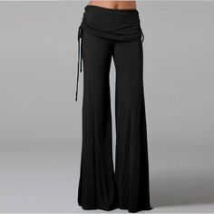 Women Wide Leg Pants High Waist Flare Dance Sport Pants Casual Trousers Women Pantalones Mujer Pantskirt Loose Long Harem Pants