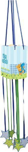 Creative Converting Bears First Birthday Paper Pull-String Pinata, Blue First Birthday Party Supplies, First Birthday Parties, First Birthdays, Birthday Pinata, Party Games, Bears, Paper, Fun, Dinnerware
